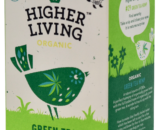Ceai verde -HEMP- eco, 20 plicuri, Higher Living
