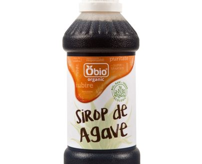 Sirop de agave raw dark eco 250ml Obio