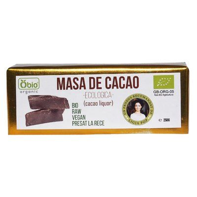 Cacao liquor raw eco 250g