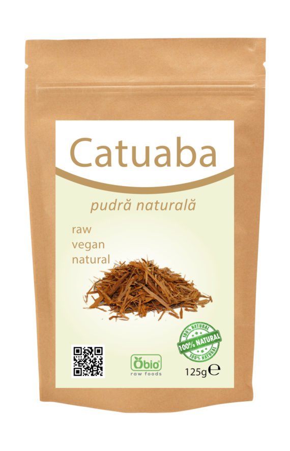 Catuaba pulbere raw 125g