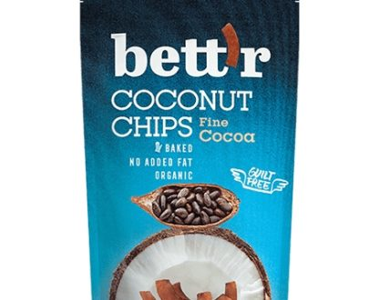 Chips de cocos eco cu cacao 70g BETTR