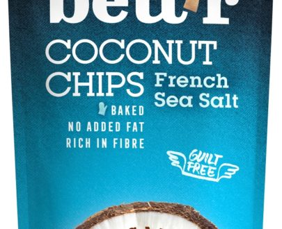 Chips de cocos cu sare eco 70g BETTR