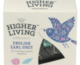 Ceai premium ENGLISH EARL GREY eco, 20 plicuri, Higher Living
