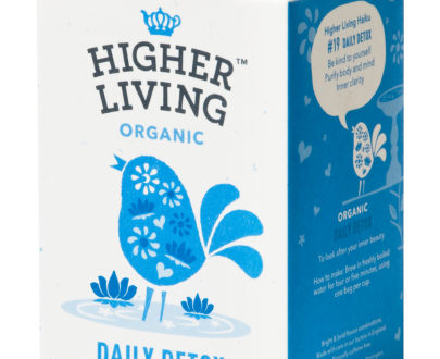 Ceai DAILY DETOX eco, 15 plicuri, Higher Living