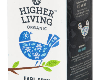 Ceai EARL GREY eco, 20 plicuri, Higher Living