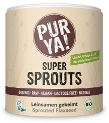 Super Sprouts seminte de in germinate raw eco 200g