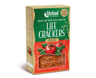 LIFECRACKERS italian raw eco 90g