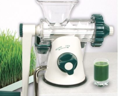 Storcator manual Healthy Juicer green