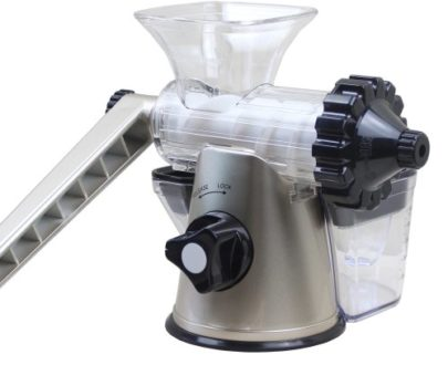 Storcator manual Healthy Juicer silver