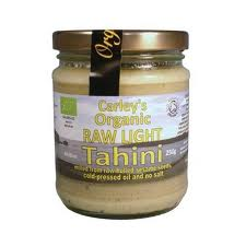Tahini light raw eco 250g Carley s