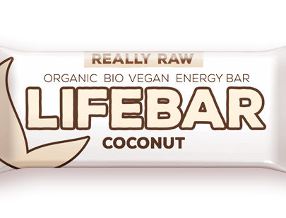 Lifebar baton cu cocos raw eco 47g