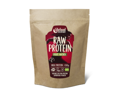 Pudra proteica Fruit Antiox Superfood raw eco 450g
