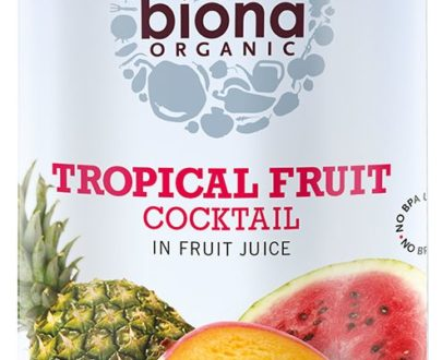 Cocktail de fructe tropicale bio 400g Biona